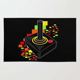 Retro Joystick Rug