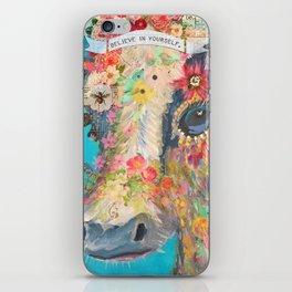 Frida's Pet Cow iPhone Skin