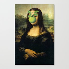 GIOCONDA MAGRITTE Canvas Print