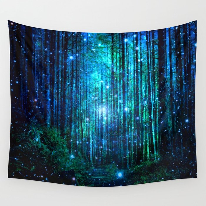 magical path Tapestry by haroulita Editions