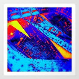 Crayola Cyphers Art Print