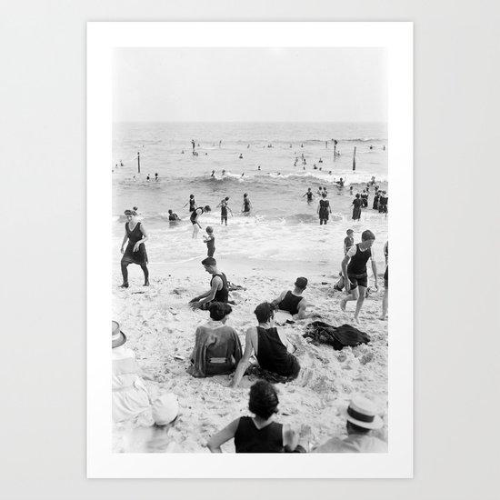 Long Beach California Vintage Photo, 1920s by fineearthprints