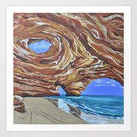 In The Cleft Art Print