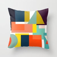 geo Throw Pillows featuring Geo by Mr & Mrs Quirynen