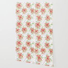 Tropical Fiesta Flowers Wallpaper