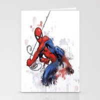 spider man Stationery Cards featuring Spider-Man  by Isaak_Rodriguez