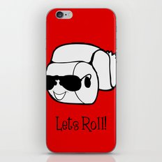 Let's Roll! iPhone & iPod Skin