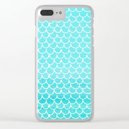 Let´s be mermaids- Aqua Mermaidscales - into the Sea- on #Society6 Clear iPhone Case