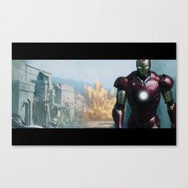 Iron Man: Gulmira II Canvas Print