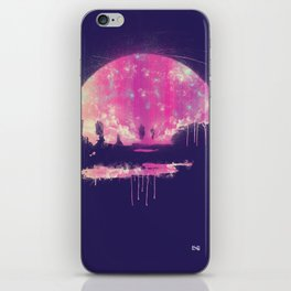 Carrying The Fire iPhone Skin