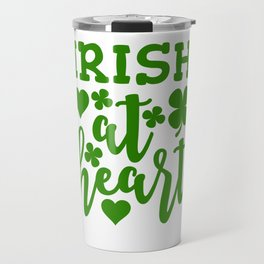 Irish At Heart Travel Mug