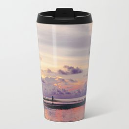 Maldivian sunset Travel Mug
