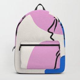 Line Art Woman -  #aesthetic,grunge,decor,homedecor  #ตามห,shop,pastel,sale,onsale,art,style,ootd,l Backpack