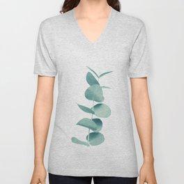 Eucalyptus Green Vibes #1 #foliage #decor #art #society6 Unisex V-Neck