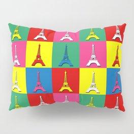 Pop art Paris Pillow Sham