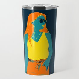 Cool girl Travel Mug