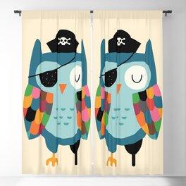 Captain Whooo Blackout Curtain