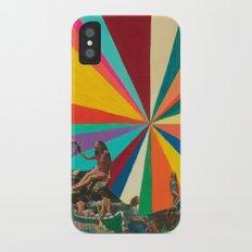 Summer Vacation iPhone X Slim Case