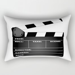 Clapperboard Rectangular Pillow