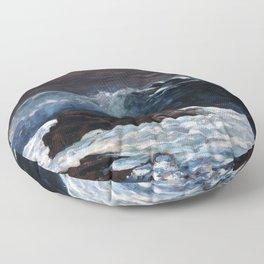 Winslow Homer - Sunlight on the Coast Floor Pillow