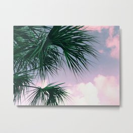 Sunset Palms jungalo tropical Metal Print