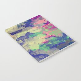 Abstract painting X 0.3 Notebook