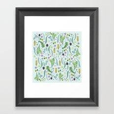Sweet Ferns Framed Art Print