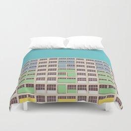 Rainbow House Duvet Cover