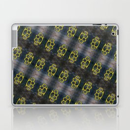 Brass Knuckles Pattern Laptop & iPad Skin