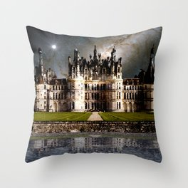 Cosmic Chambord Throw Pillow