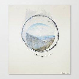 Smoky Mountains (Void 5) Canvas Print