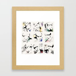 Love Me Right - EXO Framed Art Print
