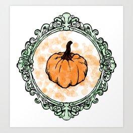 Pumpkin Coquine Art Print