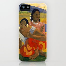 """Paul Gauguin """"Nafea Faa Ipoipo? (When will you marry ?)"""" iPhone Case"""