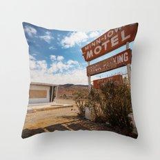 Minn Iowa Throw Pillow