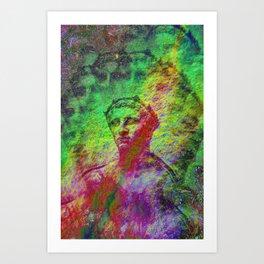 Bust 03 Art Print