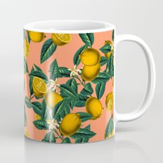 Lemon and Leaf Mug