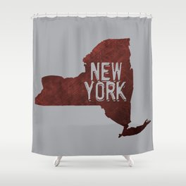 NY State Shower Curtain