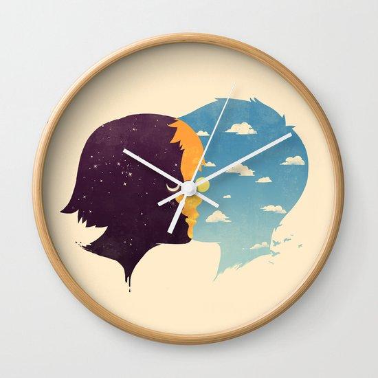 Dawn Wall Clock