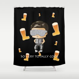 So Very Totally Cool Shower Curtain