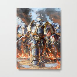 Warhammer funny game Metal Print