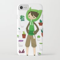 plants iPhone & iPod Cases featuring Plants by Zennore