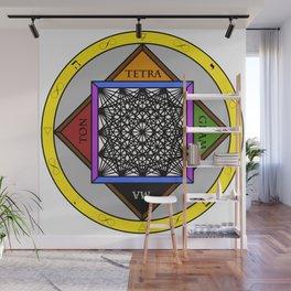 Infinite Dimensional Matrix Wall Mural