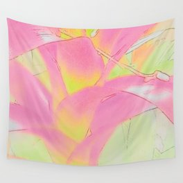 Pretty Floral Wall Tapestry