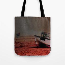 Deseert Boat Tote Bag