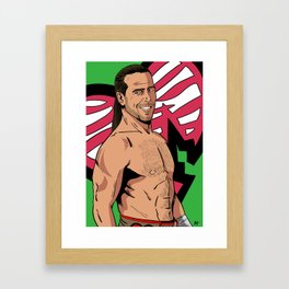 Shawn Michaels Framed Art Print