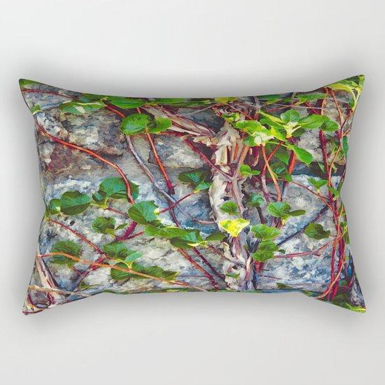 Climbing Vines - Nature's Art Work Rectangular Pillow