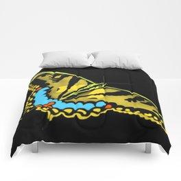 Swallowtail @ night Comforters