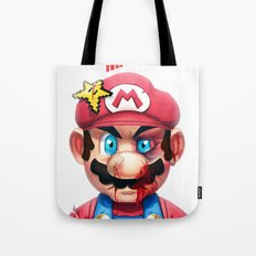 Beat Up Mario Tote Bag