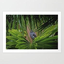 Guard Bird Art Print